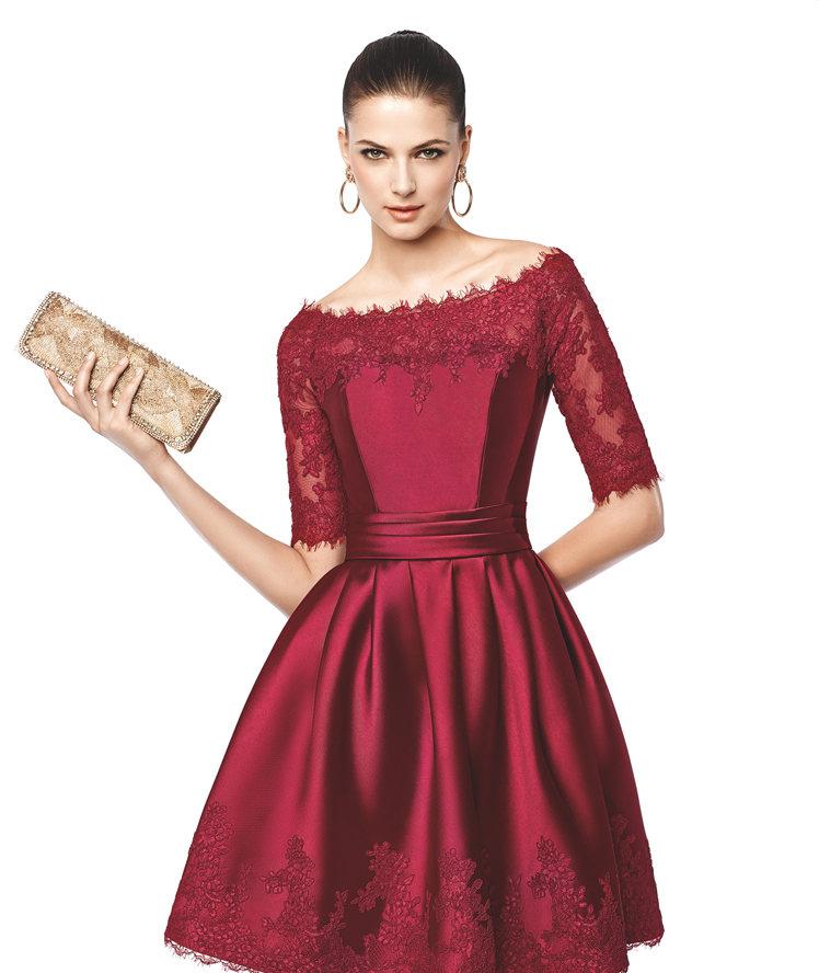 لباس مجلسی دخترانه کوتاه (1)