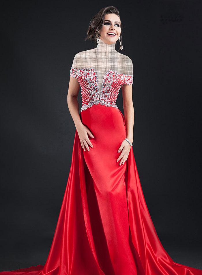 لباس مجلسی گیپور (1)