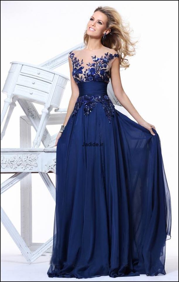 لباس مجلسی گیپور (10)