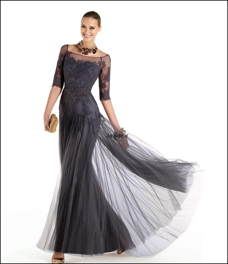 لباس مجلسی گیپور (8)
