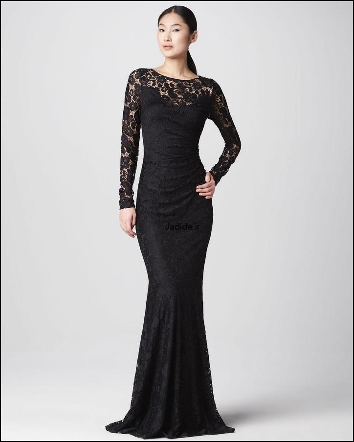 لباس مجلسی گیپور (9)