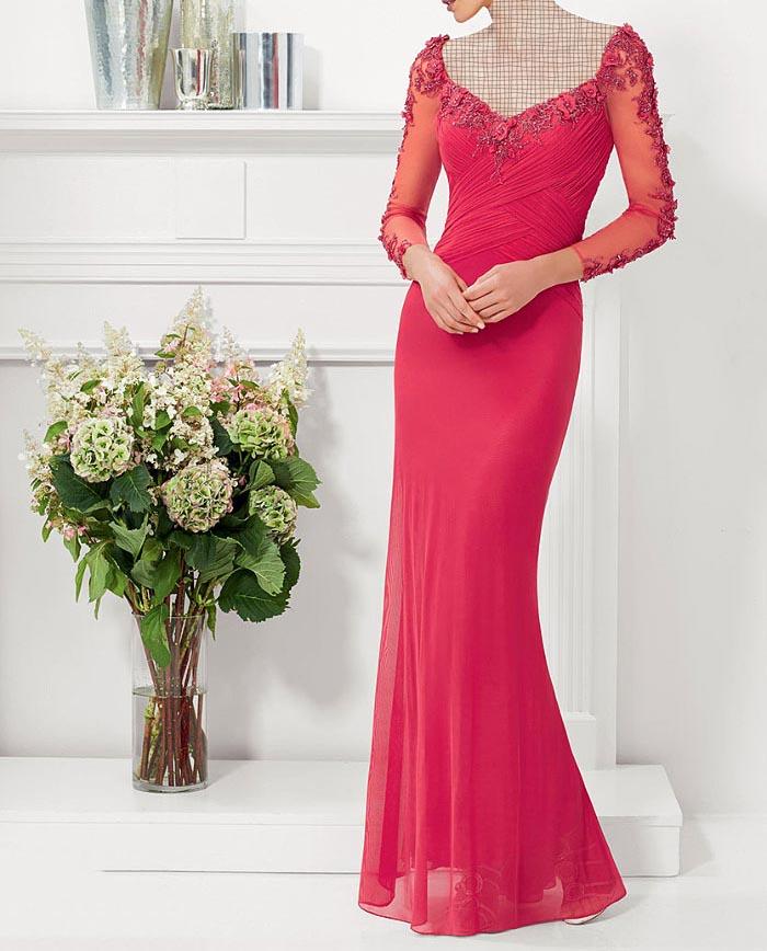 مدل لباس مجلسی دانتل,مدل لباس مجلسی بلند,مدل های جدید لباس مجلسی کارشده (1)