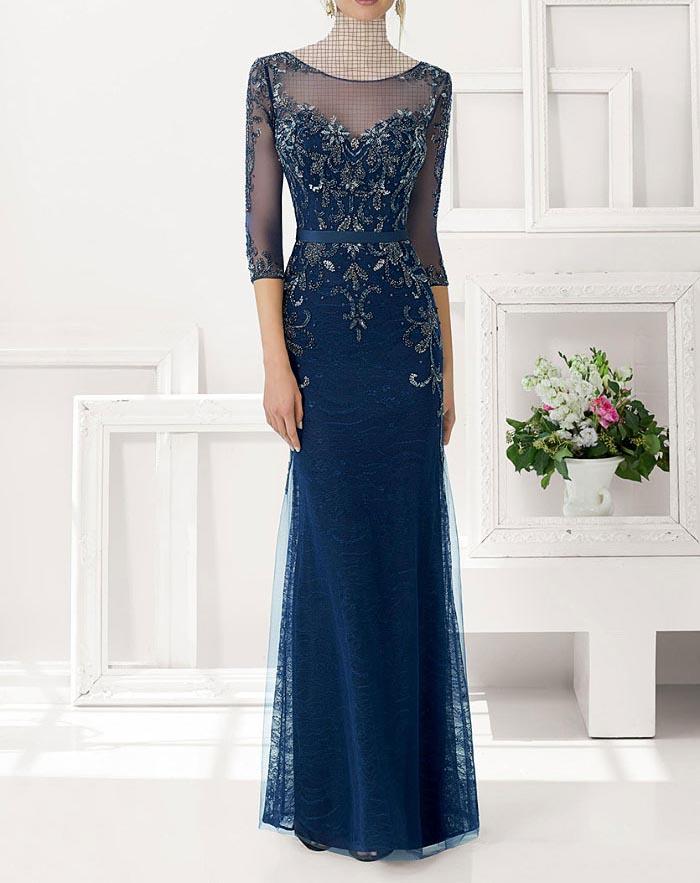 مدل لباس مجلسی دانتل,مدل لباس مجلسی بلند,مدل های جدید لباس مجلسی کارشده (10)