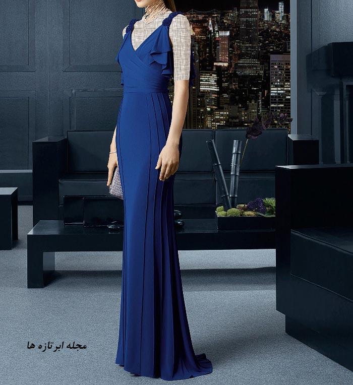 مدل لباس مجلسی دانتل,مدل لباس مجلسی بلند,مدل های جدید لباس مجلسی کارشده (11)