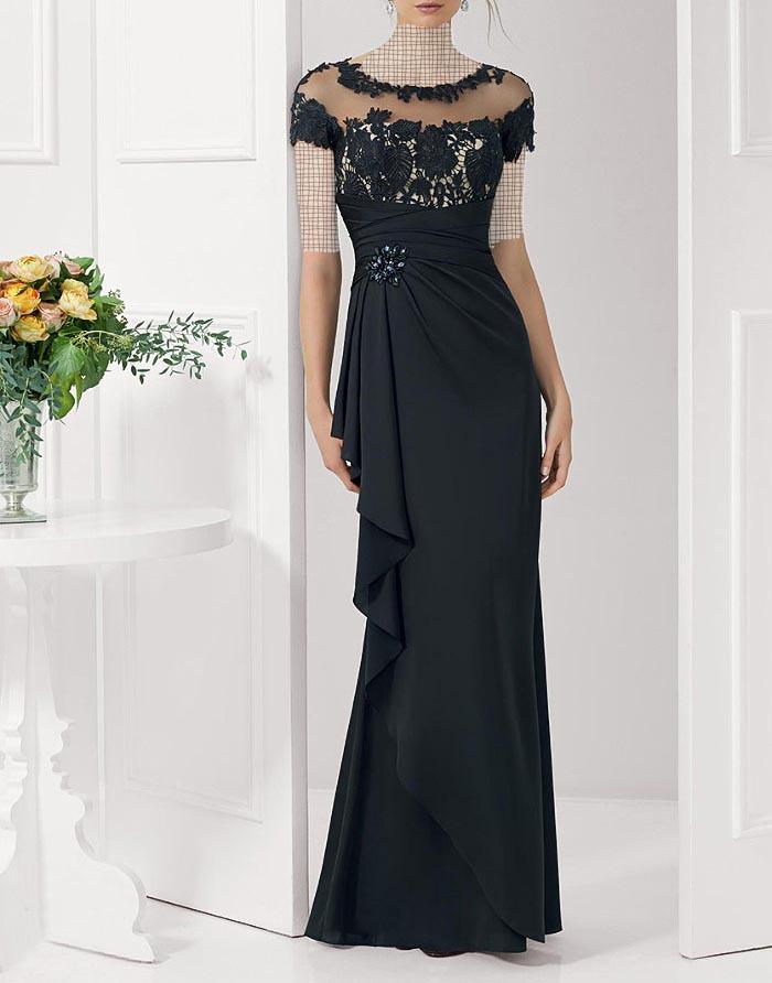 مدل لباس مجلسی دانتل,مدل لباس مجلسی بلند,مدل های جدید لباس مجلسی کارشده (2)