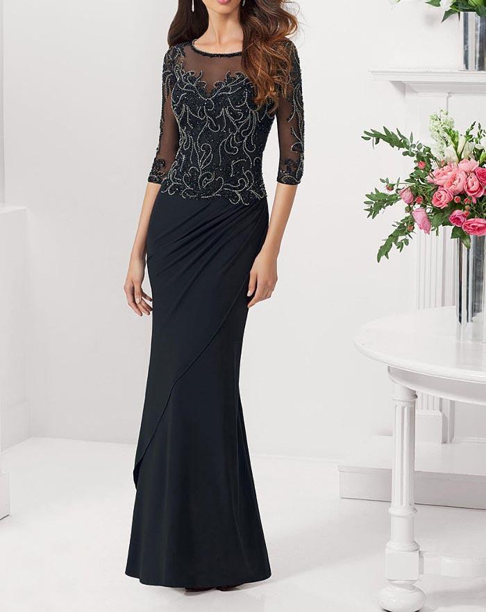 مدل لباس مجلسی دانتل,مدل لباس مجلسی بلند,مدل های جدید لباس مجلسی کارشده (3)