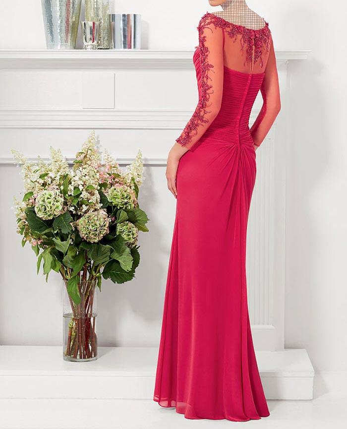 مدل لباس مجلسی دانتل,مدل لباس مجلسی بلند,مدل های جدید لباس مجلسی کارشده (7)