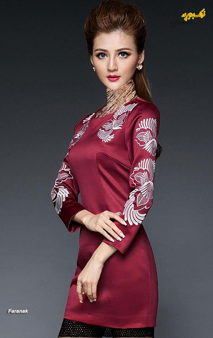 مدل لباس مجلسی کوتا,مدل لباس دخترانه مجلسی (1)