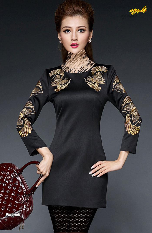 مدل لباس مجلسی کوتا,مدل لباس دخترانه مجلسی (13)