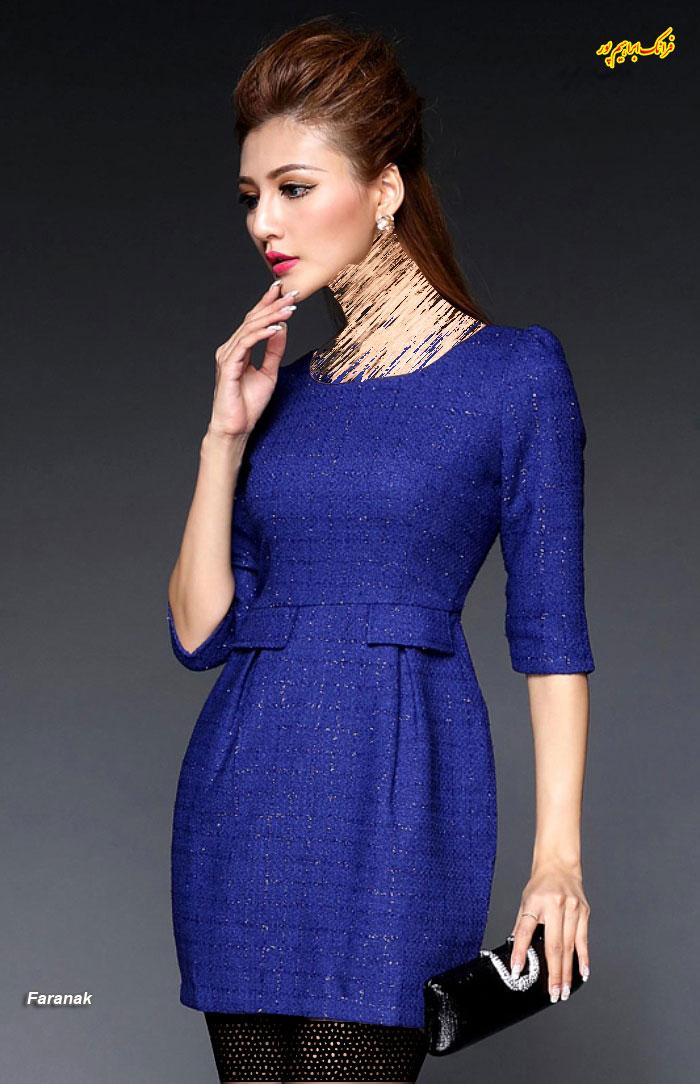 مدل لباس مجلسی کوتا,مدل لباس دخترانه مجلسی (15)