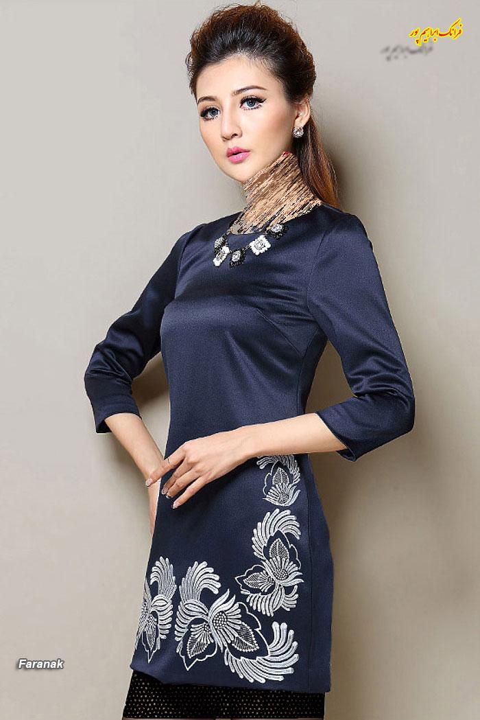 مدل لباس مجلسی کوتا,مدل لباس دخترانه مجلسی (2)