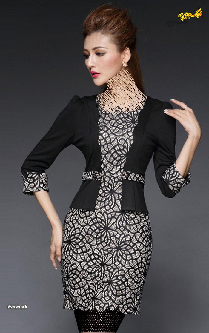 مدل لباس مجلسی کوتا,مدل لباس دخترانه مجلسی (3)