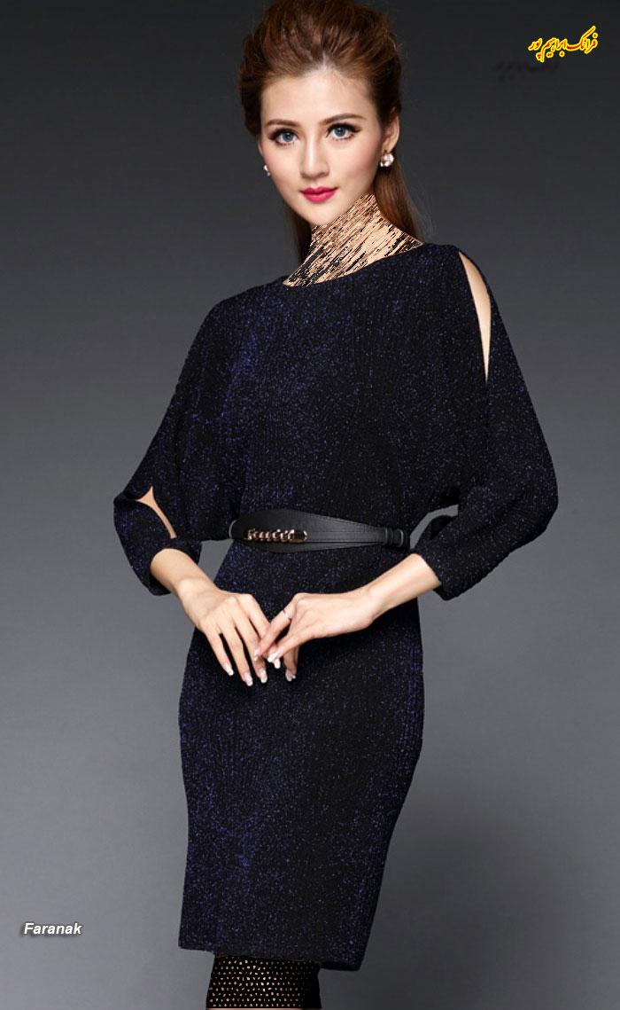 مدل لباس مجلسی کوتا,مدل لباس دخترانه مجلسی (4)
