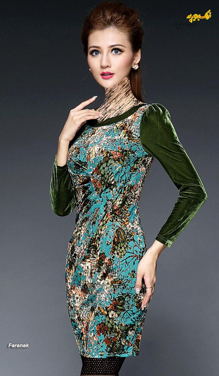 مدل لباس مجلسی کوتا,مدل لباس دخترانه مجلسی (5)