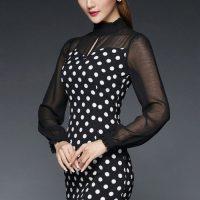 لباس مجلسی دخترانه کوتاه مناسب خانوم های لاغر اندام
