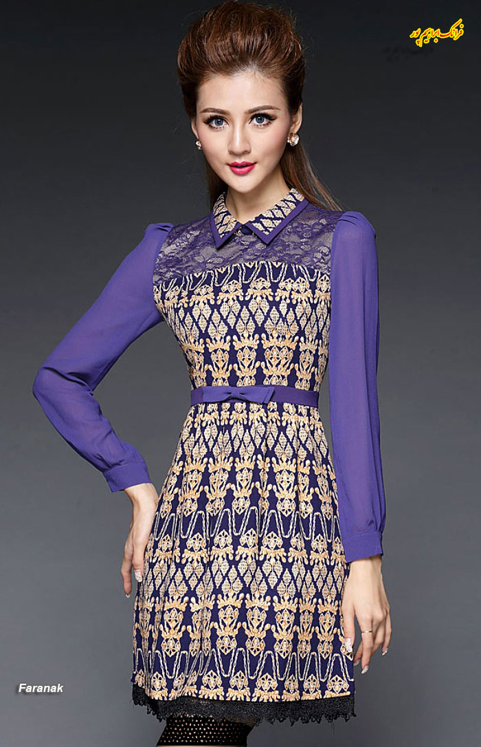 مدل لباس مجلسی کوتا,مدل لباس دخترانه مجلسی (8)