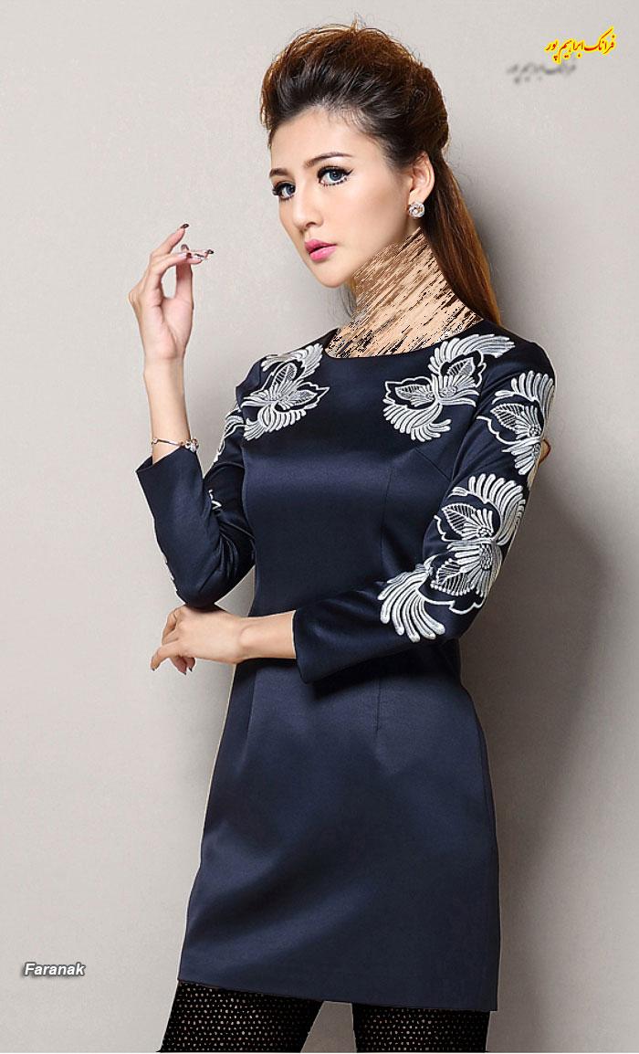 مدل لباس مجلسی کوتا,مدل لباس دخترانه مجلسی (9)