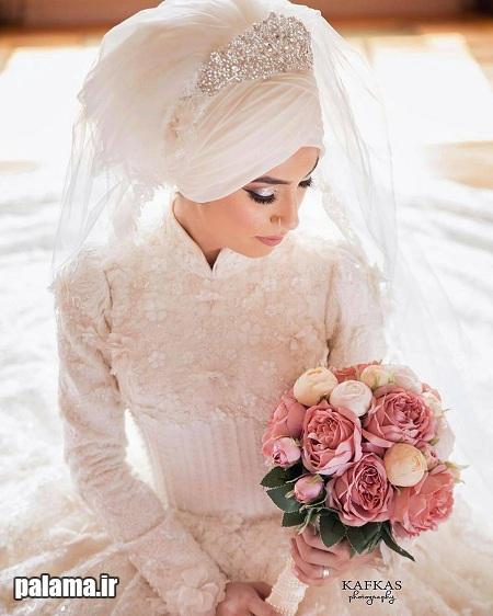 مدل های جذاب لباس عروس پوشیده و با حجاب اسلامی 2016 22 (3)