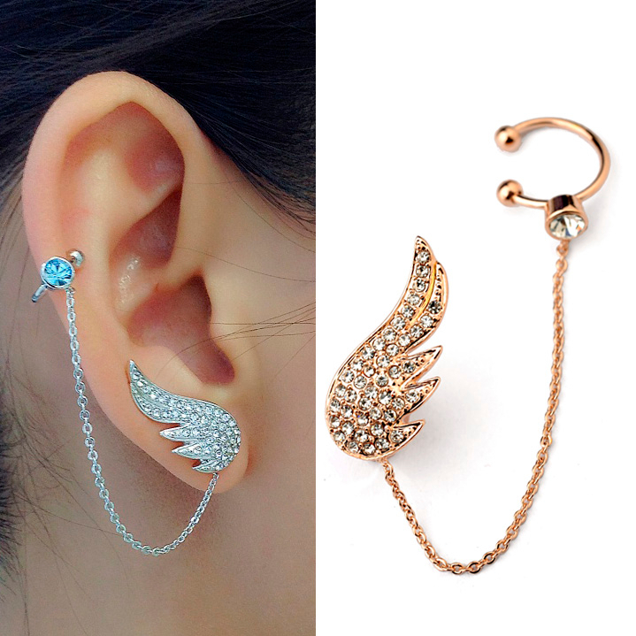 Stylish gold earrings for girls - Buyproxy
