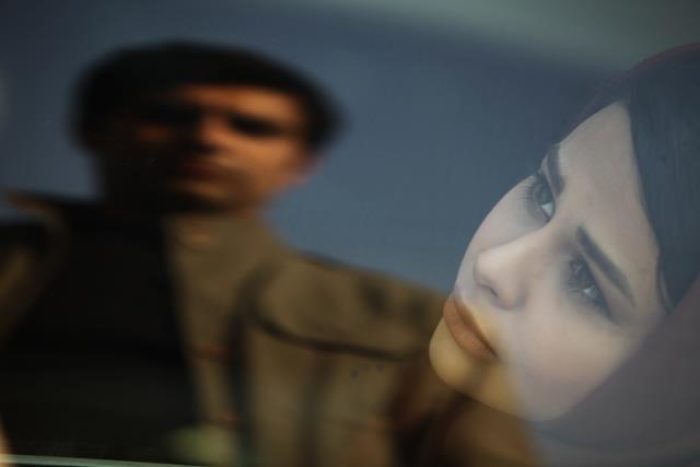 یاسمینا باهر و مهدی پاکدل (فیلم سینمایی بدون اجازه)