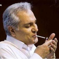 دلیل سیگار کشیدن مهران مدیری در نشست خبری + فیلم