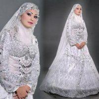 کالکشن مدل لباس عروس پوشیده و با حجاب اسلامی ۲۰۱۷