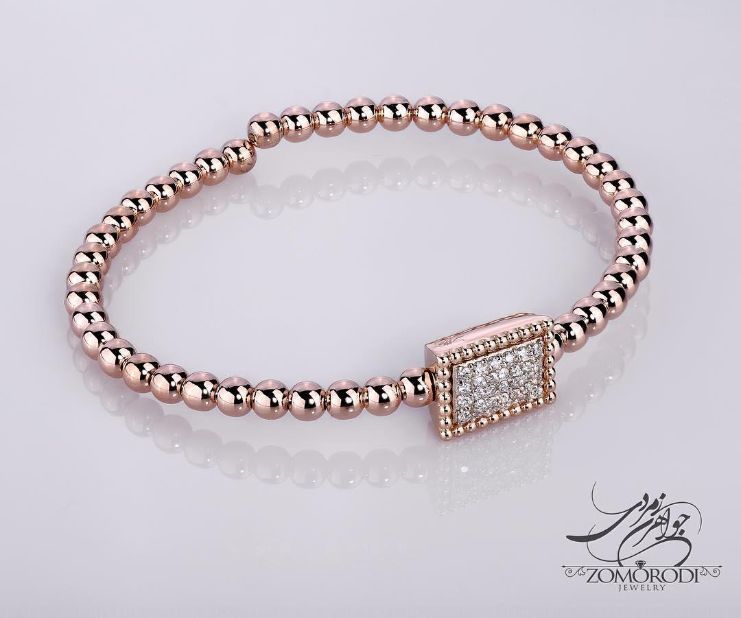 مدل دستبند طلا دخترانه شیک و اسپرت 2017