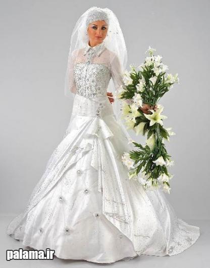عکس مدل لباس عروس ایرانی جدید 2016