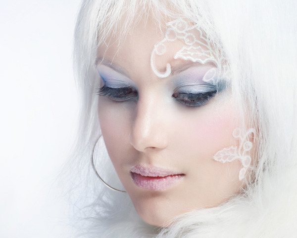ice-hair-color-رنگ موی یخی (11)