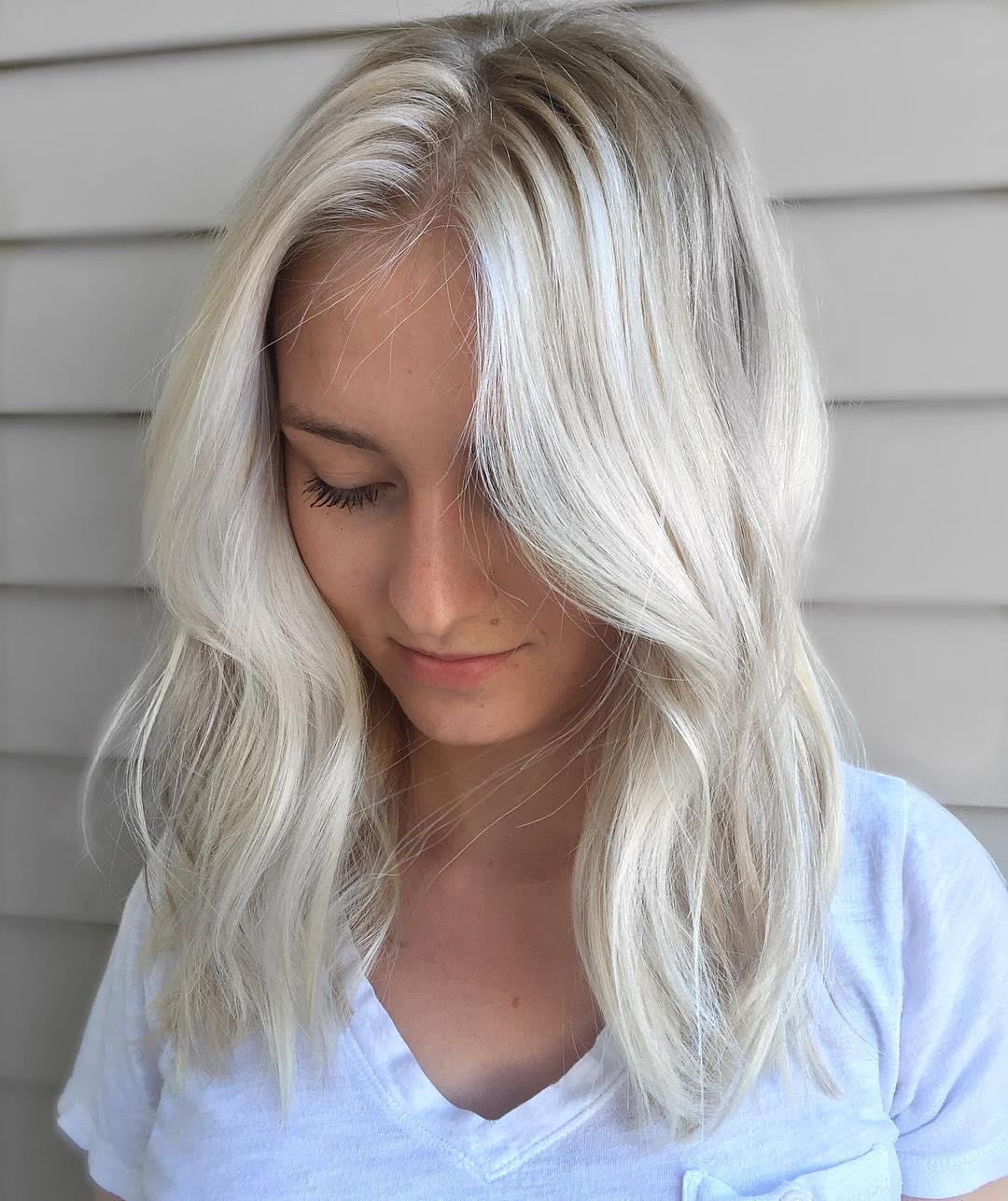 آموزش رنگ موی صدفی