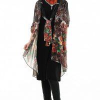 مدل لباس مجلسی شیک با حجاب ترک سال ۲۰۱۷