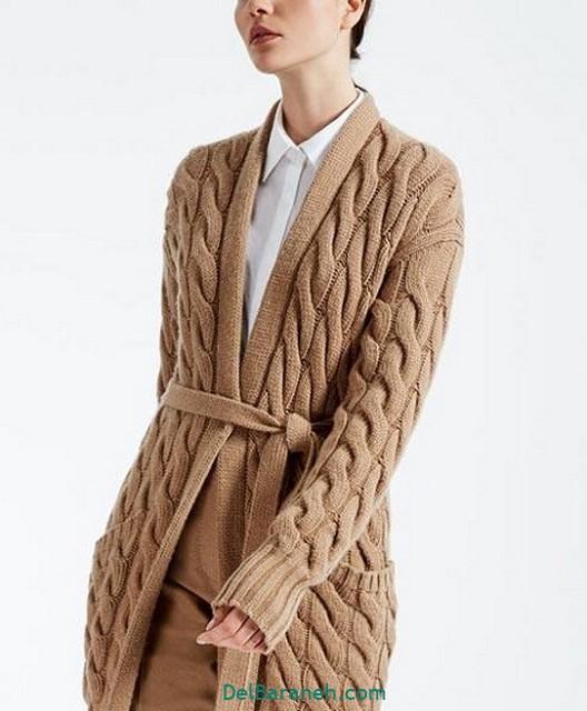 مدل مانتو قلاب بافی (۹)