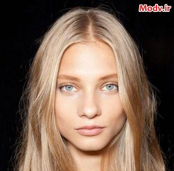 زیباترین مد مو برای چشم سبزها