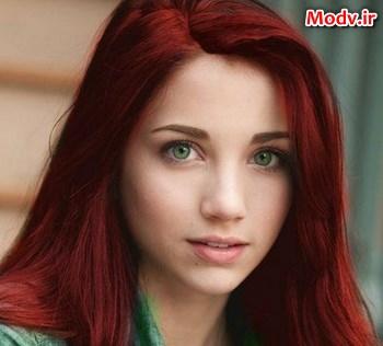 بهترین رنگ مو برای چشم های سبز + تصاویر