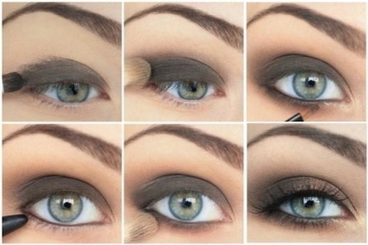مدل آرایش چشم (4)