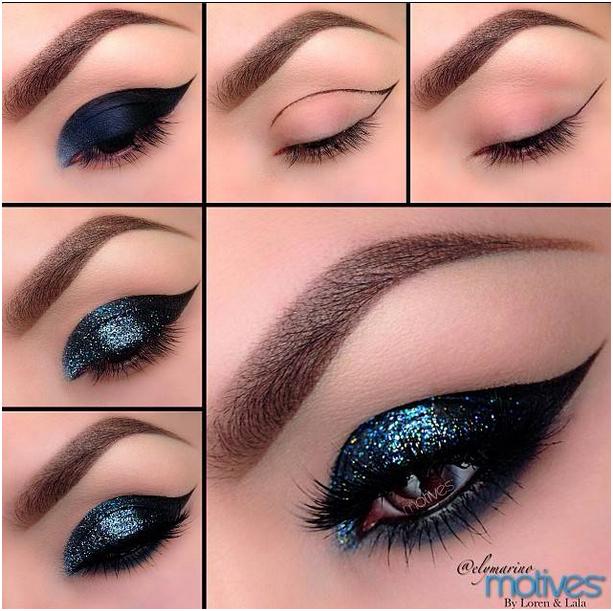 مدل آرایش چشم (5)