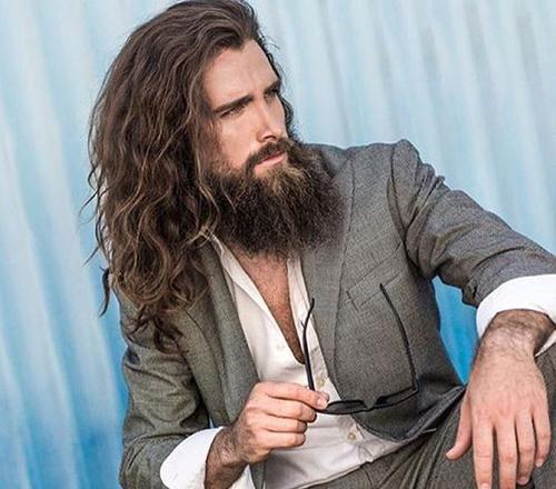 مدل مو بلند پسرانه (17)