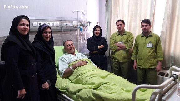 علت عمل جراحی و بستری شدن حمید فرخ نژاد در بیمارستان
