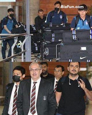 علت ماسک سیاه زدن بازیکنان کره جنوبی در تهران چه بود؟