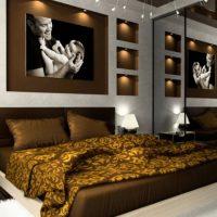 انواع ترکیب رنگ اتاق خواب زیبا و مجلل سال ۲۰۱۷