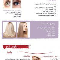 راهنمای جامع برای انتخاب رنگ موی متناسب با پوست شما