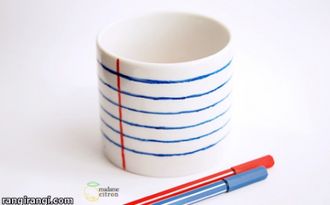 عکس های رنگی – ۸ ایده که برای درست کردن جامدادی رومیزی