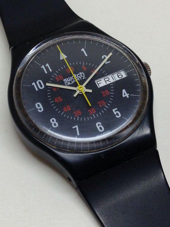 مدل ساعت مچی مردانه سواچ swatch جذاب و باکلاس 96
