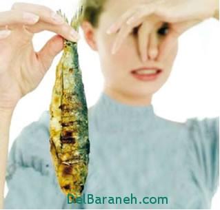 از بین بردن بوی بد ماهی,بوی بد ماهی,