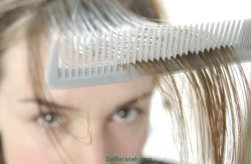 ریزش مو,دلیل ریزش مو,نرم کننده مو, سلامت پوست و مو