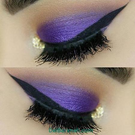 جدیدترین مدل آرایش چشم,مدل آرایش چشم,مدل آرایش صورت و میکاپ صورت ,میکاپ صورت ,مدل آرایش صورت