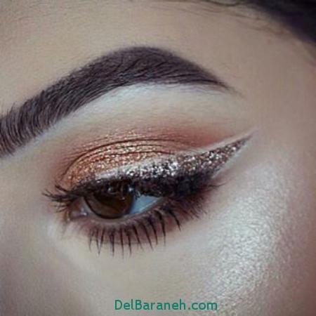مدل آرایش چشم 2017