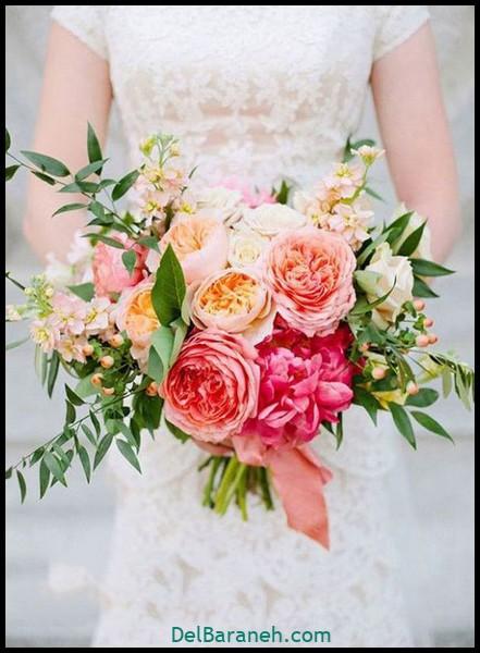 مدل دسته گل عروس (۱)