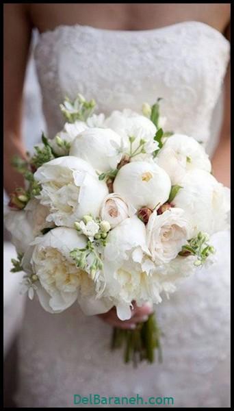 مدل دسته گل عروس (۱۰)