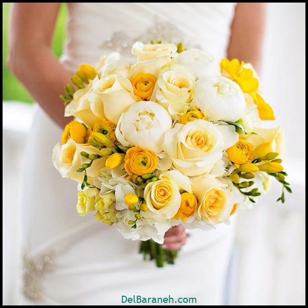 مدل دسته گل عروس (۱۰۱)